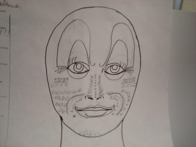 Theatrical makeup DSC01707