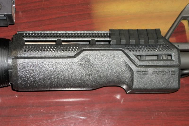 AB Arms MOD1/LTF Hand Guard Review ABArmson6