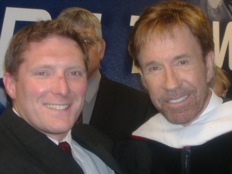 Post A Picture of Yourself CoachandChuckNorris