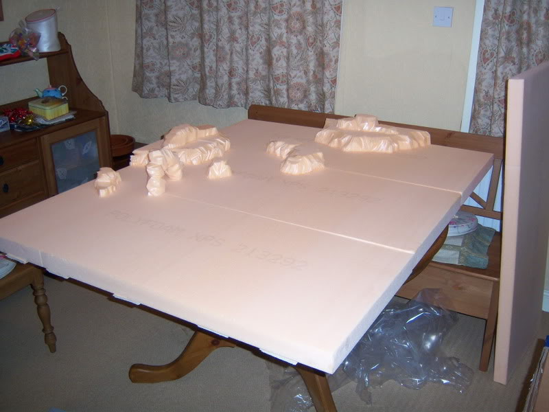 Wargame table - Pink B&Q style 100_2066