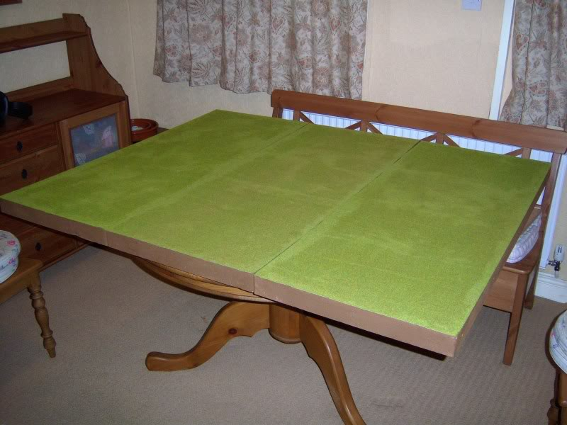 Wargame table - Pink B&Q style 100_2223