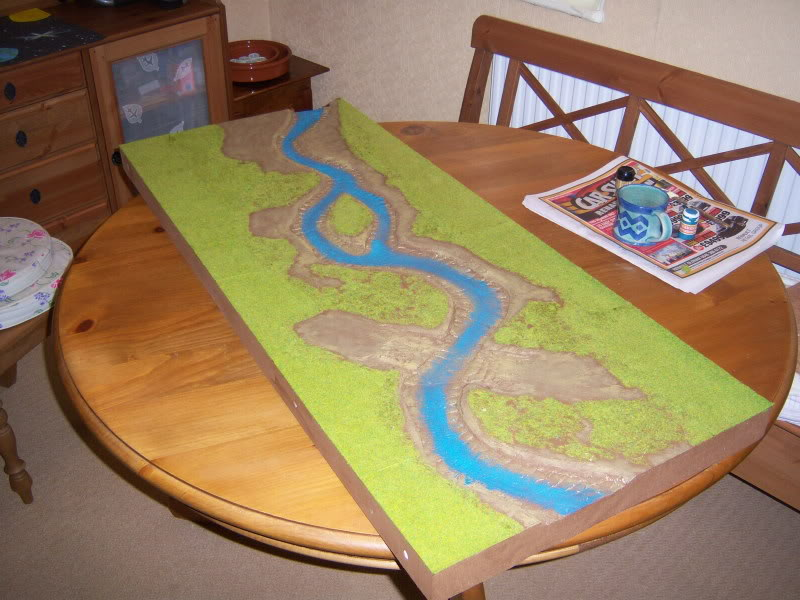 Wargame table - Pink B&Q style 100_2227