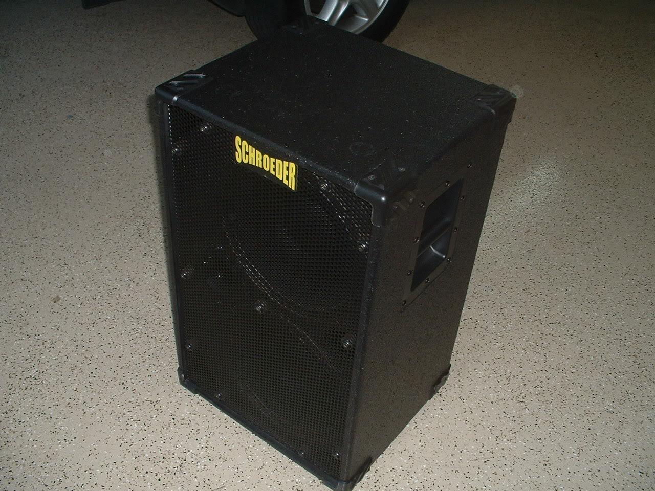 Schroeder GAS Schroeder1212BMF1