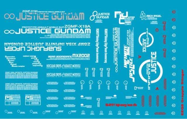 DC-0002 1/100 Infinite Justice DC-0002