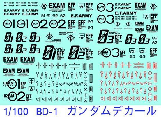 DC-0024 1/100  BD-1  BD-2  BD-3 DC-0024