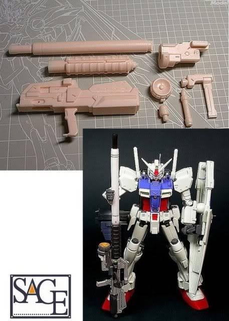 RS-0002 1/100 ORE-GUN A.E.Blash-XBR-L-83d RESIN RECAST KIT翻版 11070731821584_368