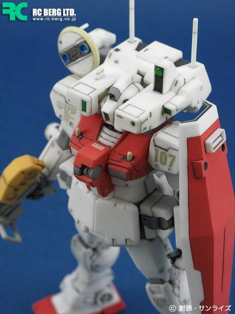 RS-0018 C3 RECKLESS 1/144 GM+detecter RESIN RECAST KIT翻版 11080902598317_546