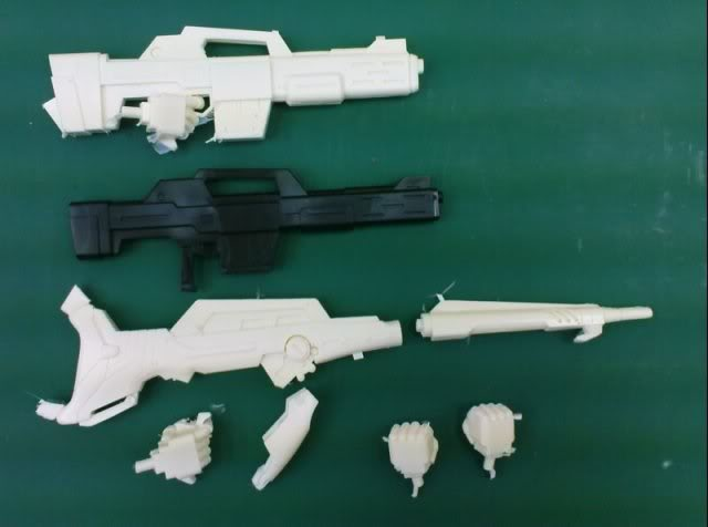 RS-0009 1/144 SAZABI weapon set RESIN RECAST KIT翻版 11080923907988_751