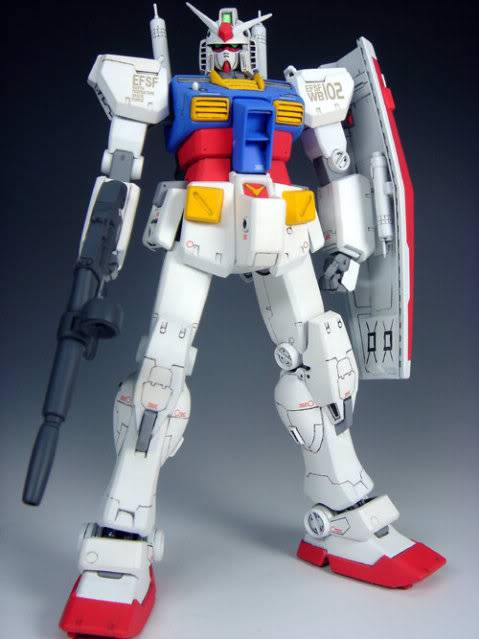 RS-0030 RECKLESS RX-78-2 2006 FINAL RESIN RECAST KIT翻版 11090321394802_844