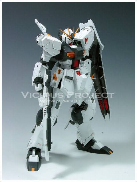 RS-0013 Vicious Project Nu Gundam Extra-Fit version RESIN RECAST KIT翻版 11090321913471_861