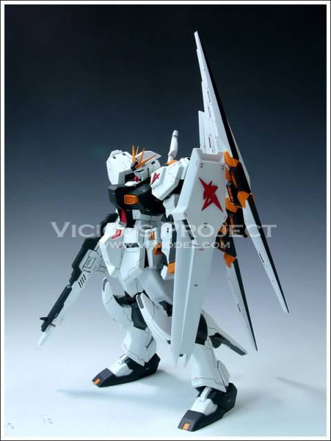 RS-0013 Vicious Project Nu Gundam Extra-Fit version RESIN RECAST KIT翻版 C76d