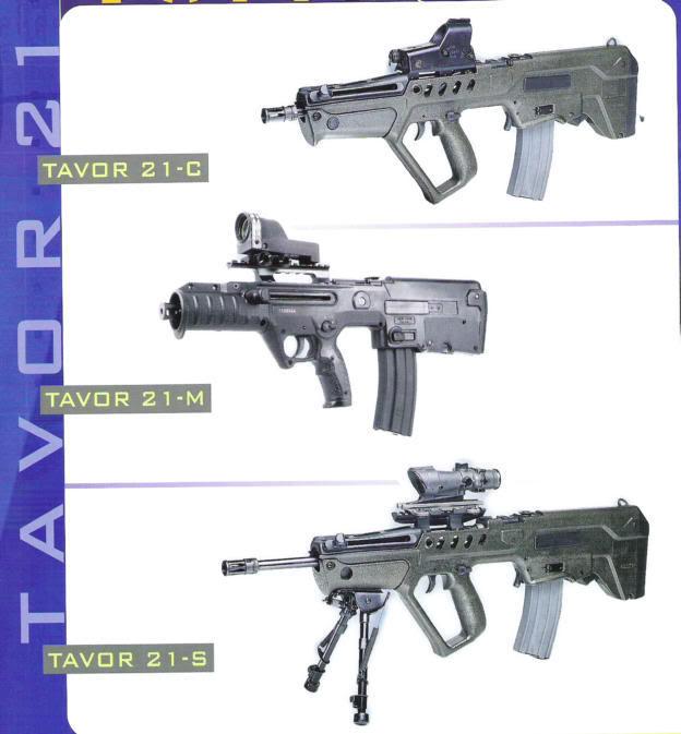 Armes de fabrication Israelienne Tavor-2