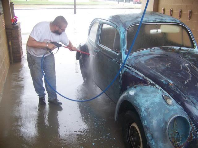 1963 Gulf Blue bug - Blue Bug III 100_1443