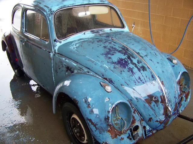 1963 Gulf Blue bug - Blue Bug III 100_1445