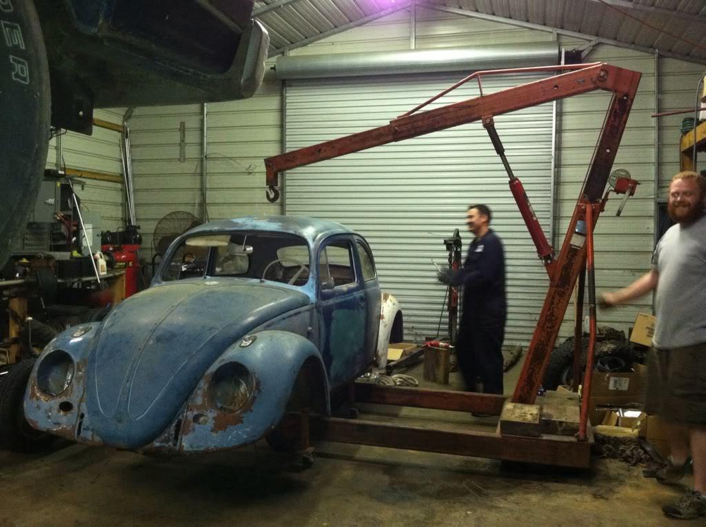 1963 Gulf Blue bug - Blue Bug III 124b43a1