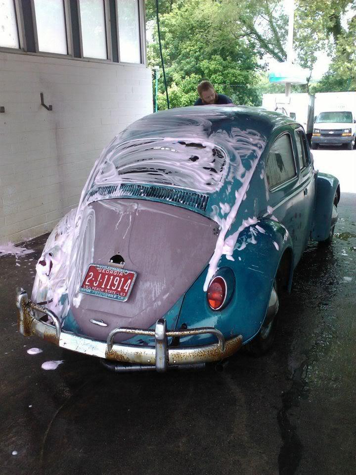 1963 Gulf Blue bug - Blue Bug III 156277_419332381428252_100000544810166_1511661_1254516221_n