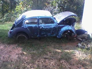 1963 Gulf Blue bug - Blue Bug III 1stpic