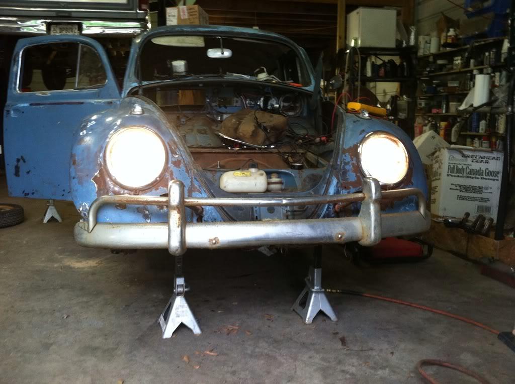 1963 Gulf Blue bug - Blue Bug III 29fad0a6
