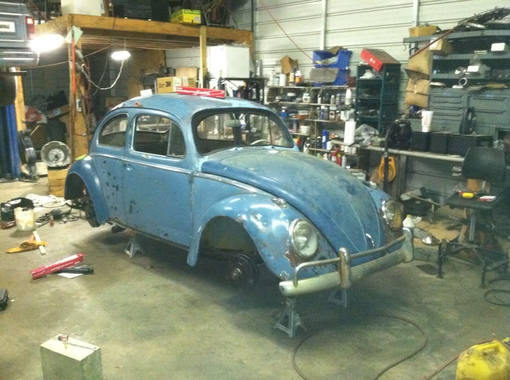 1963 Gulf Blue bug - Blue Bug III 4d44bc6a