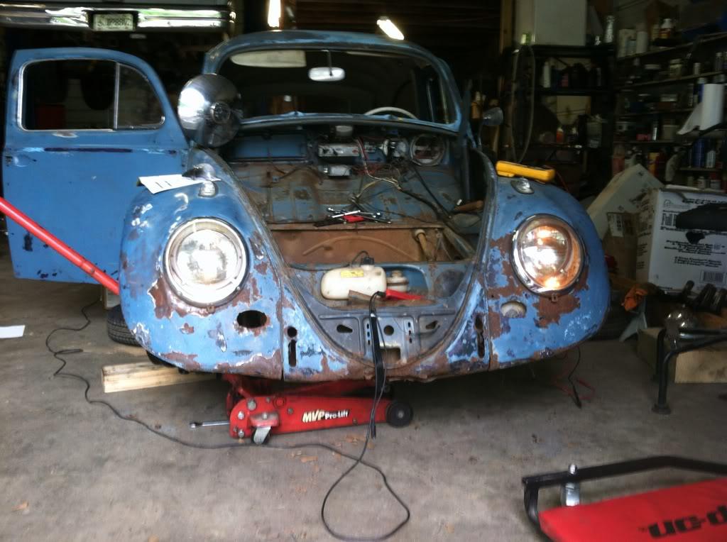 1963 Gulf Blue bug - Blue Bug III 912cc297