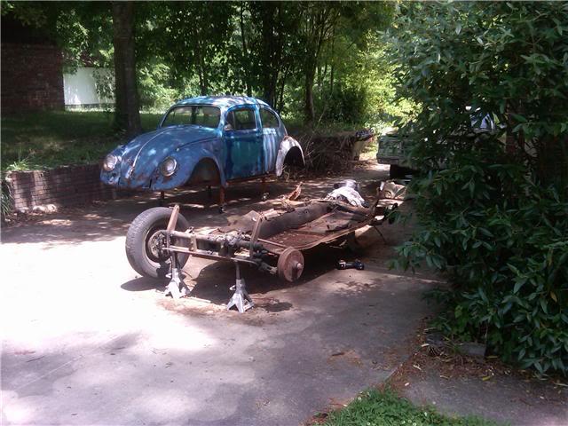 1963 Gulf Blue bug - Blue Bug III Bodyoff