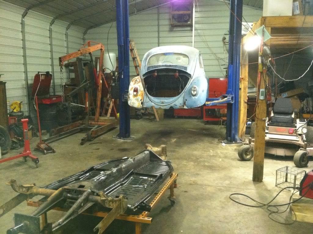 1963 Gulf Blue bug - Blue Bug III D9dd6549