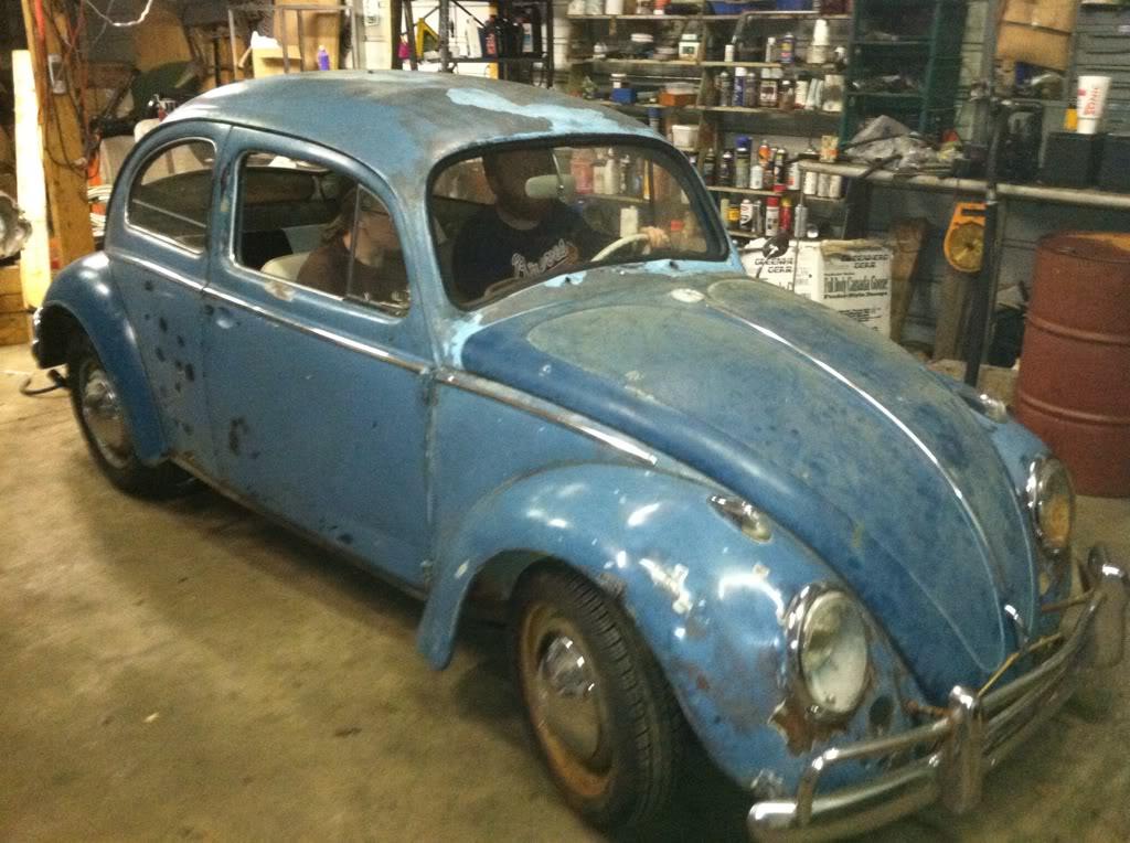1963 Gulf Blue bug - Blue Bug III Df37fa31