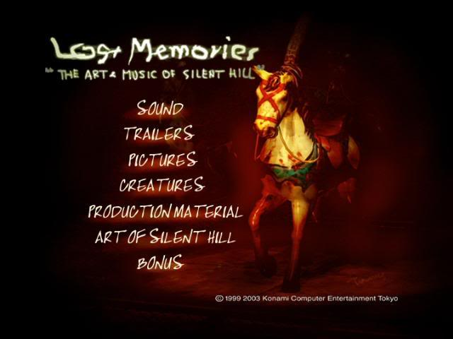 Silent Hill Lost Memories The Art & Music of Silent Hill  Silentlostmemories01