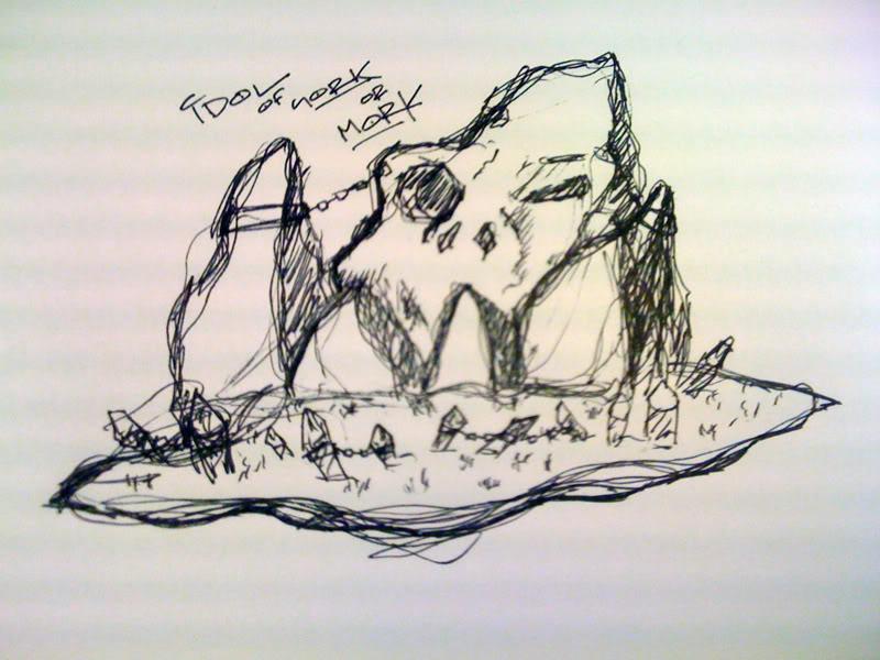 Chemical Agent's Terrain IdolSketch