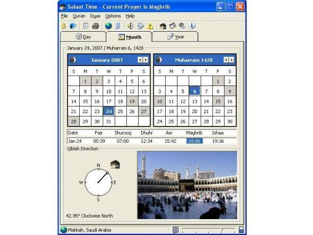 ~*~SALAT TIME~*~Prayer TIme Indication SOftware~*~ Salattime2