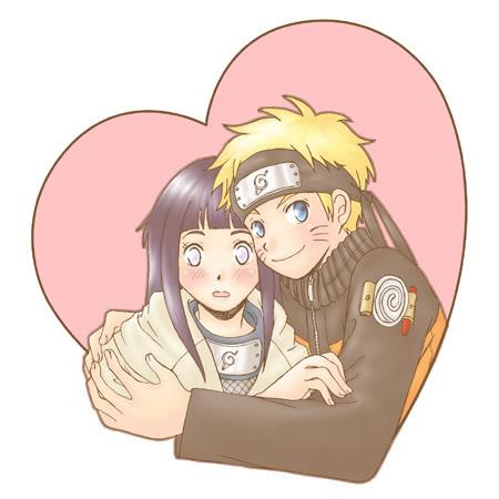 صور ناروتو وساكورا وساسوكي وهيناتا رومانسية putterflys Naruto-hinata3