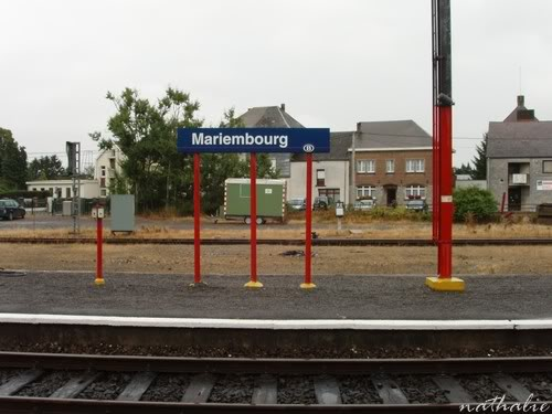la ville de MARIEMBOURG. Villegare5