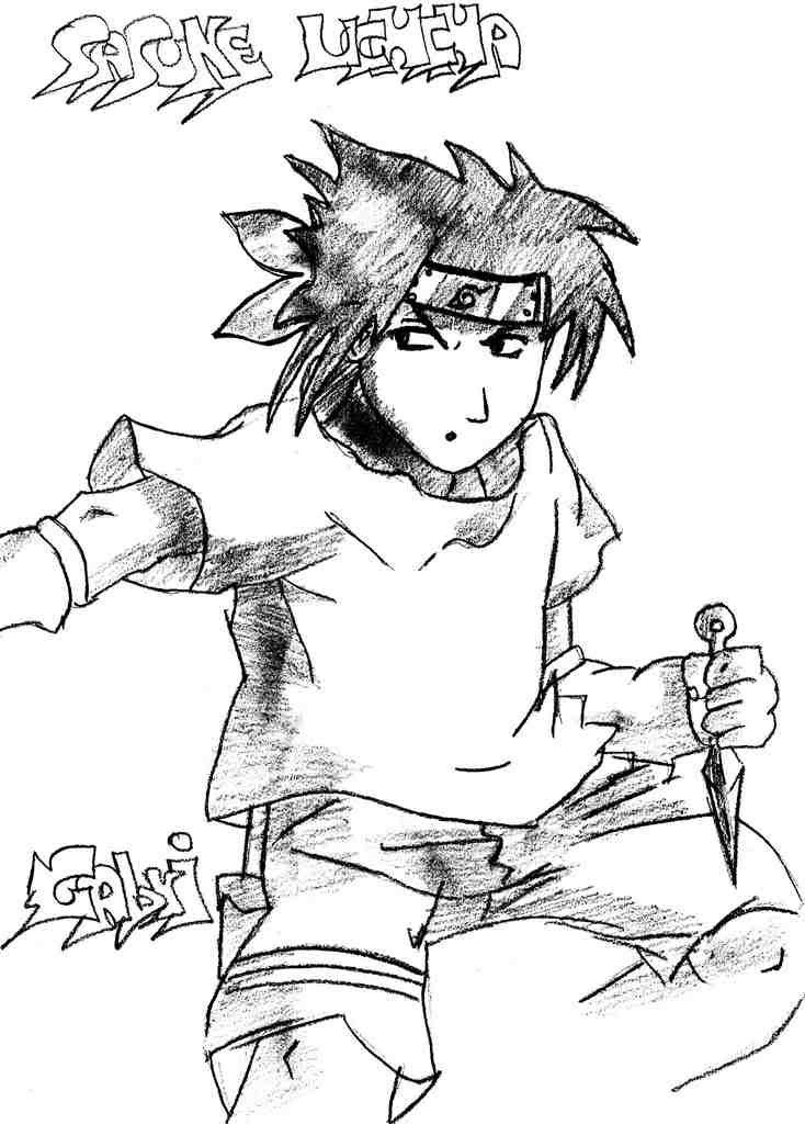 [Galeria]Fanarts Dvilgabri(mhf) Sasuke
