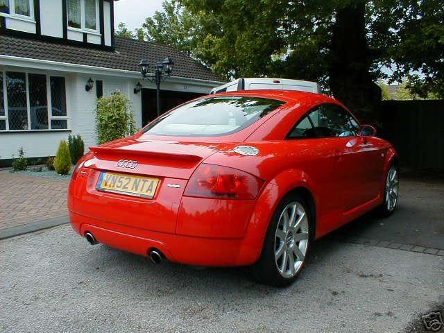 my g/f new motor Audi1