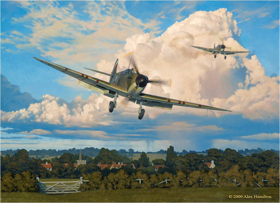 Print from Duxford Battle1