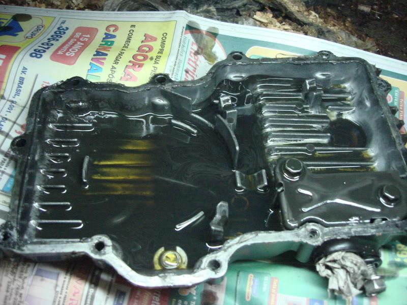 Espanou a Rosca do carter da SRAD 750 DSC01443