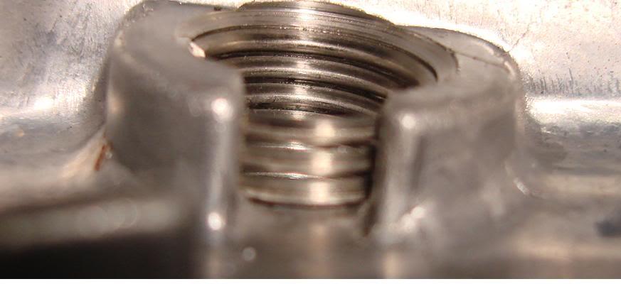 Espanou a Rosca do carter da SRAD 750 Roscatampadocrter