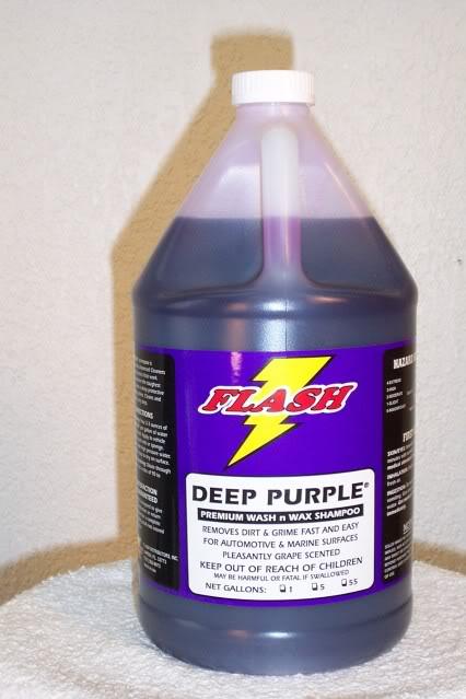 Deep Purple Wash & Wax Shampoo & Grape Gloss Spray Wax-Dynamic Duo PRODUCT-STOREPICS017