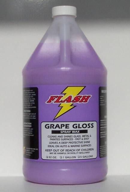 Deep Purple Wash & Wax Shampoo & Grape Gloss Spray Wax-Dynamic Duo Products5-9-07003-1