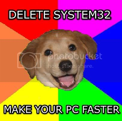I have a problem please help me! System32