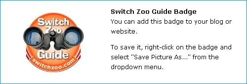Zoo Quest Switchzooguidebadge