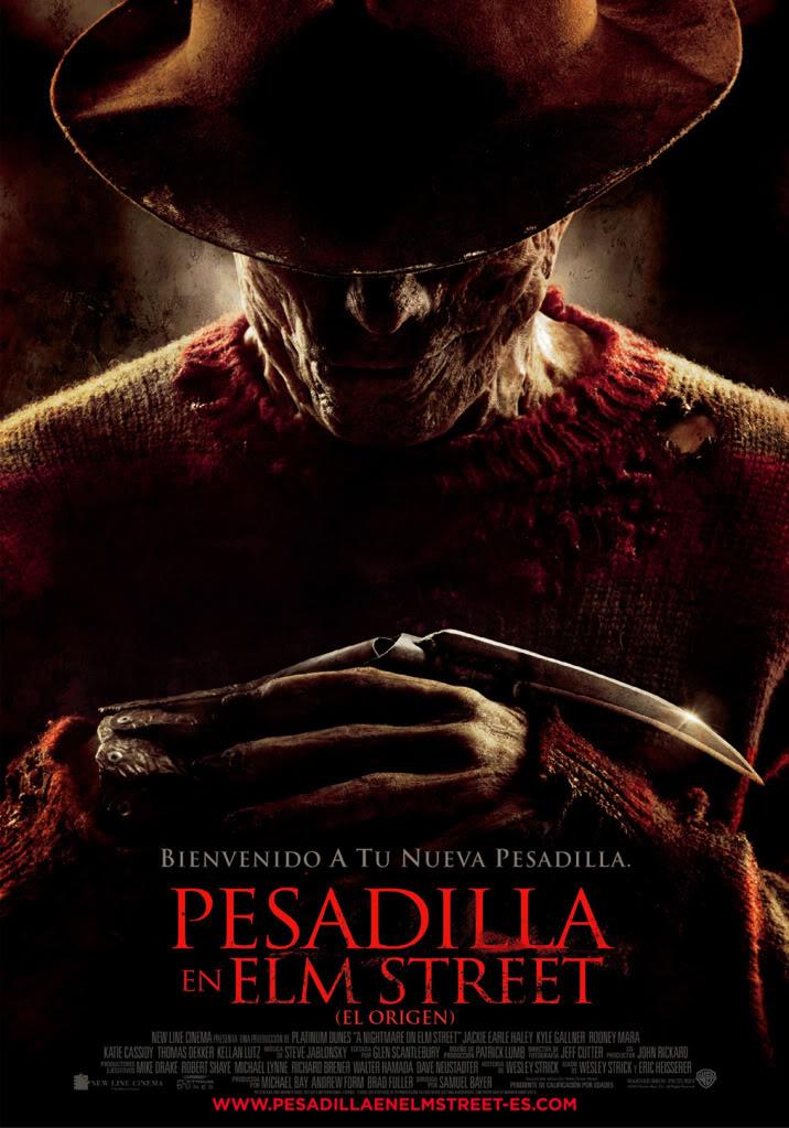 Pesadilla en Elm Street (El origen) (2010) (Remake) NOES_Posteree