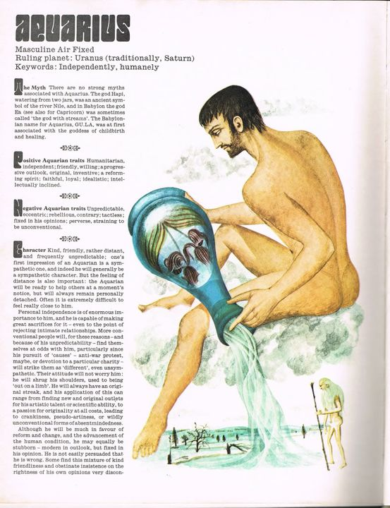 Guide to Astrology AquariusPage1