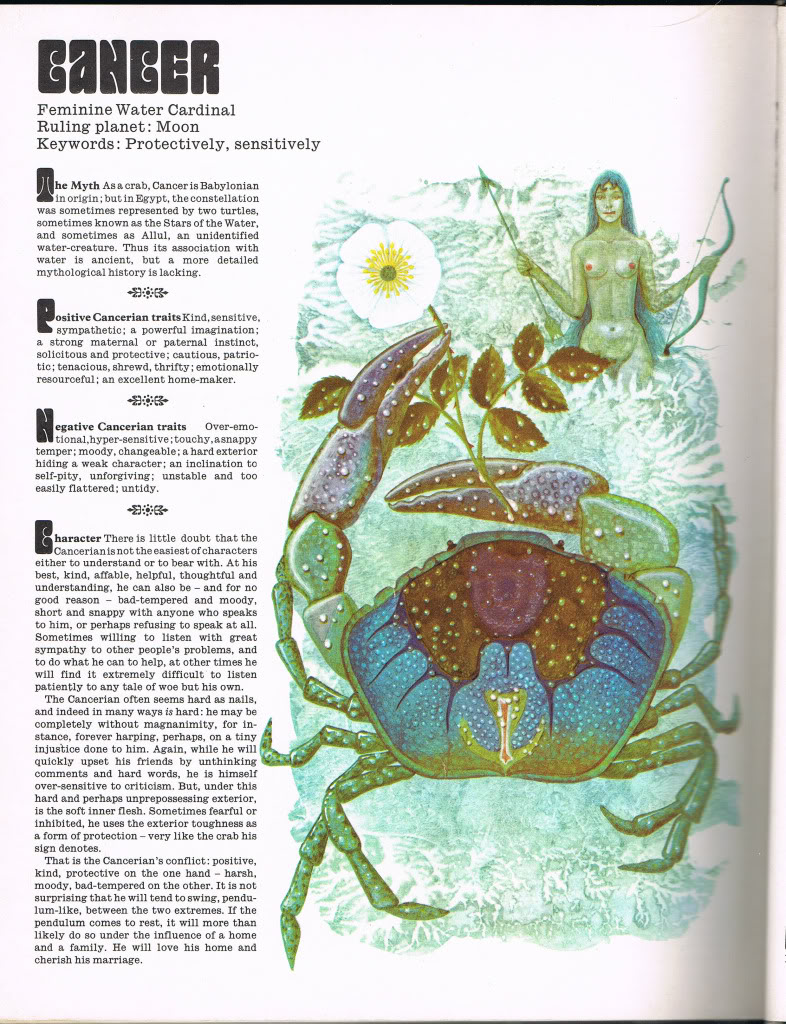 Guide to Astrology CancerPage1