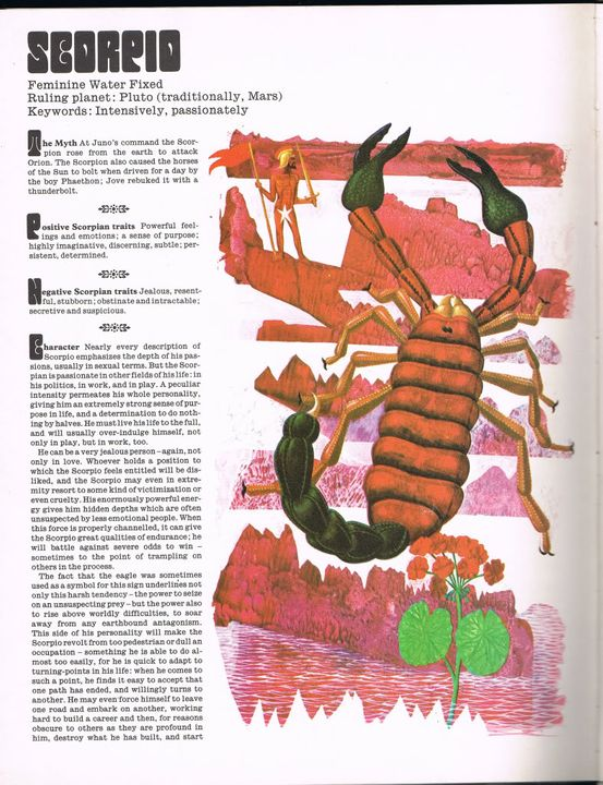 Guide to Astrology ScorpioPage1