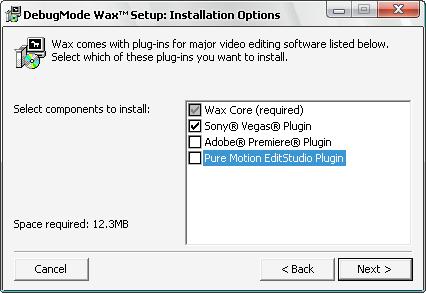 Instalar Plugin Wax para Sony vegas 7.0x - [2.0] - Chris 2.0 Screen2-2