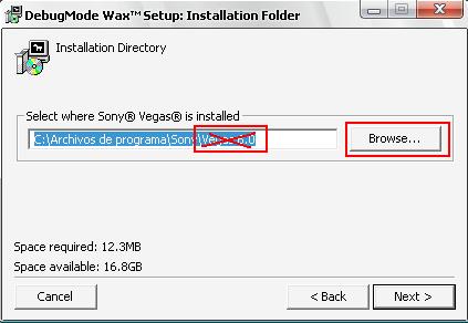 Instalar Plugin Wax para Sony vegas 7.0x - [2.0] - Chris 2.0 Screen4