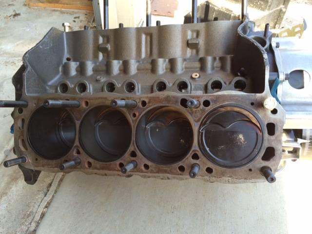 """Smblk Ford 409"""" stroker Windsor short block (Yes I know not a BBF)  Windsor%20short%20block2_zps9xpdle9t"""