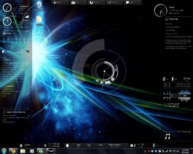 Show your Desktop Desk