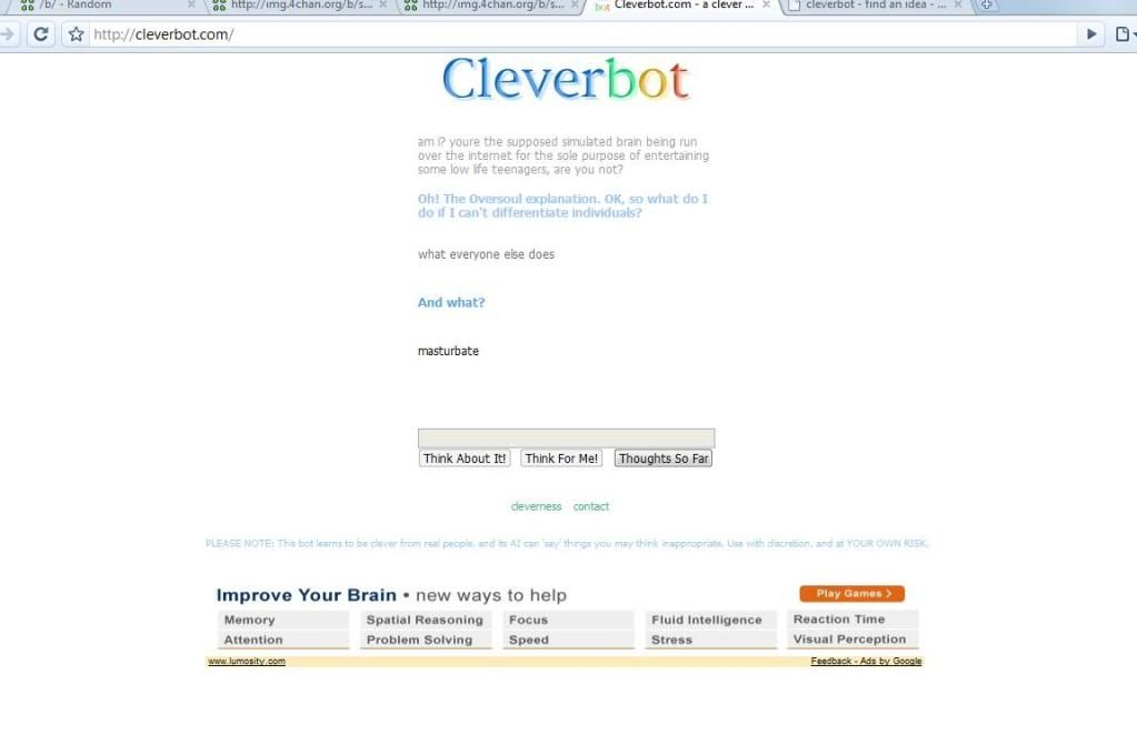 cleverbot LOLcleverbot
